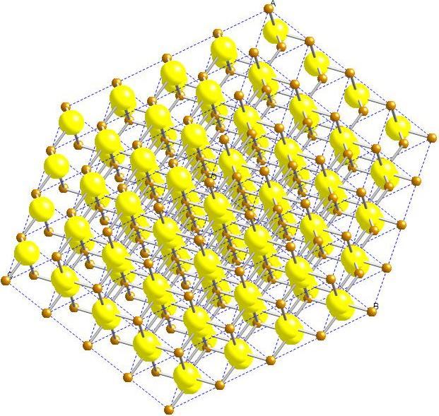 Mackinawite Crystalline Structure